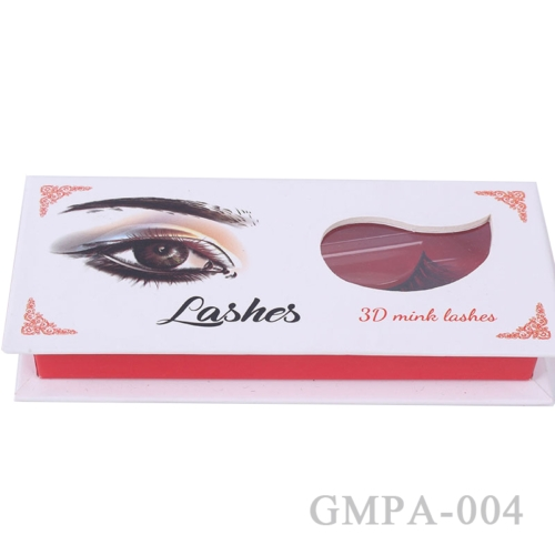 Clear Eyelash Box