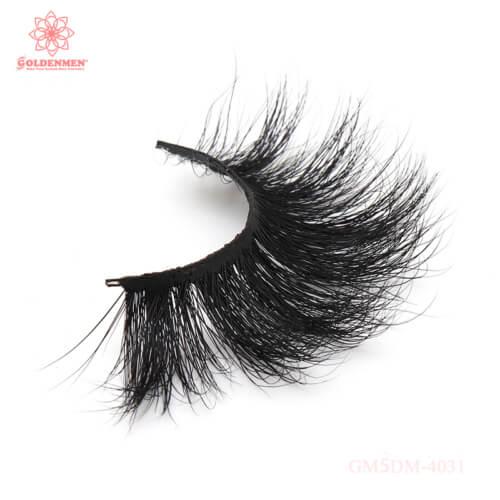 25mm Lashes Strip | 5d Mink Eyelash Vendors | Mink Strip Lashes