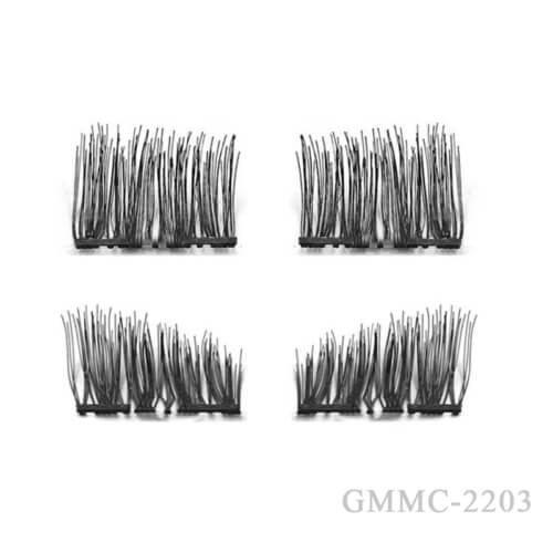 Curved Magnetic Lashes