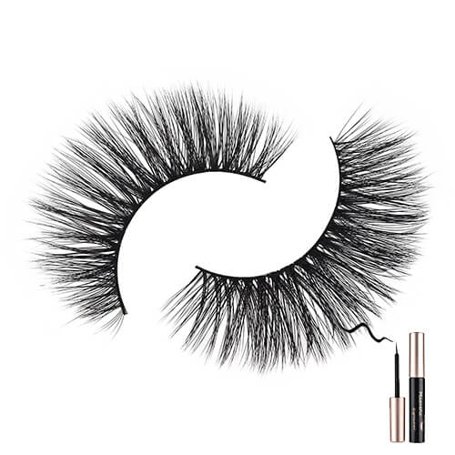 Best Magnetic Lashes with Liner