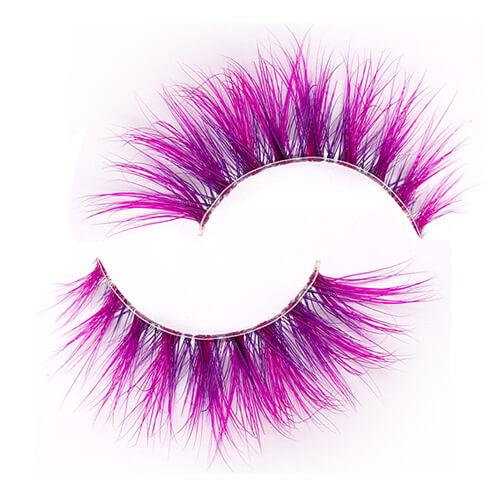 Colorful Mink Eyelashes